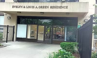 Evelyn  Louis A Green Residence, 1