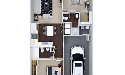 Bedroom, 2298 Shamrock Ln, 2