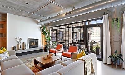Living Room, 525 N 3rd St 412, 0