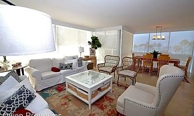 Living Room, 1820 Avenida del Mundo Unit 302, 1