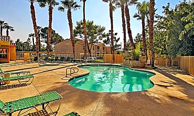 Pool, Flamingo Polo Club Condominiums, 0