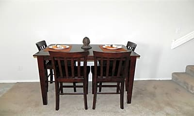 Dining Room, Valley Creek Apartments, 2