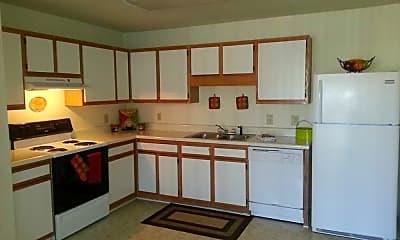 Kitchen, Orleans Terrace Apartments, 2