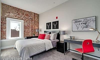 Bedroom, 300 S. Logan Street, 1