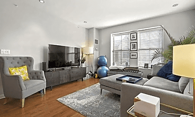 Living Room, 15 Waltham St, 1