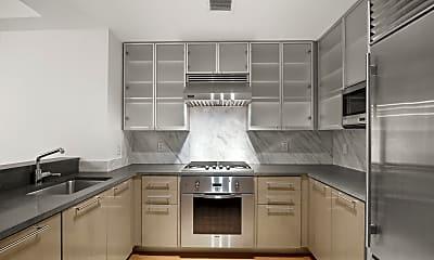Kitchen, 200 Chambers St 4-H, 1