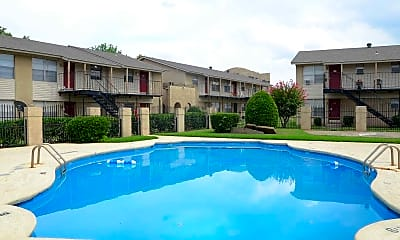 Pool, Timberline Apartments, 1
