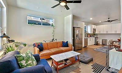 Living Room, 7317 Freret St, 2