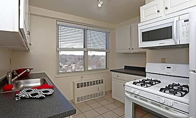Kitchen, Morgan Manor Apartments, 1