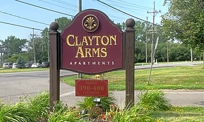 Clayton Arms Apartments, 1
