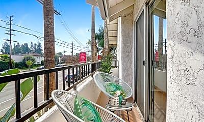 Patio / Deck, Terraces at Tarzana, 2