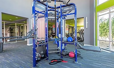 Fitness Weight Room, Trillium 44, 2