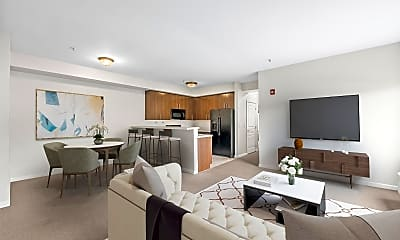Living Room, 845 Newark Ave 2D, 0