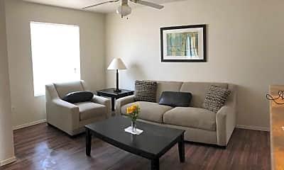 Living Room, Desert Village Apartments, 0
