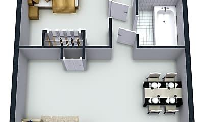 Bedroom, 819 Gustav Ave, 2