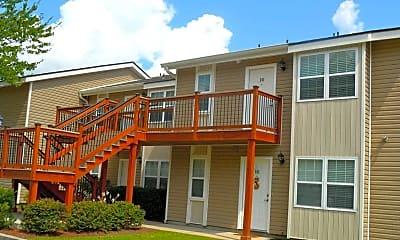 Patio / Deck, Meadowbrook Apartments, 2