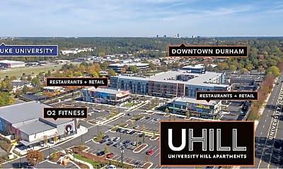 Community Signage, UHill Apartments, 2