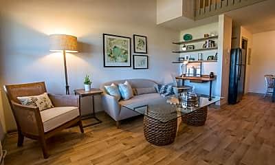 Living Room, Hawthorne Lofts South, 1