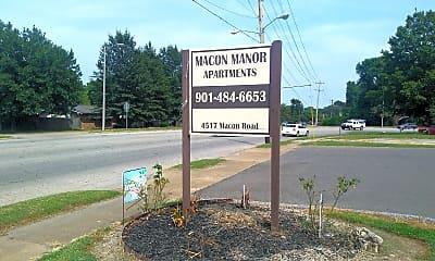 Macon Manor, 1