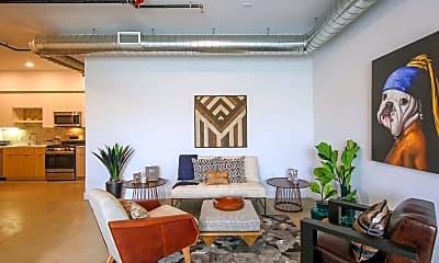 Living Room, R3 Lofts, 1