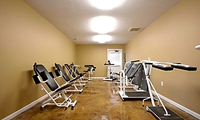 Fitness Weight Room, Harrison Point, 1