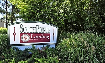 Community Signage, Southpointe Landing, 2