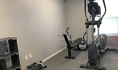 Fitness Weight Room, The Villas at Kirkwood, 2
