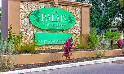 Community Signage, The Palms Of Archer, 2