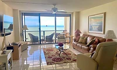 Living Room, 450 S Gulfview Blvd 1606, 1