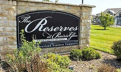 Community Signage, The Reserves At Prairie Glen, 1