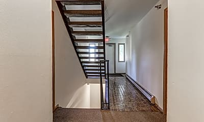 Foyer, Entryway, Guilford Apartments, 2