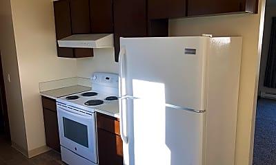 Kitchen, 2624 A Street, 1