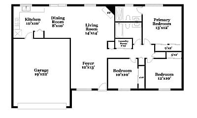 Building, 4524 W Jupiter St, 1
