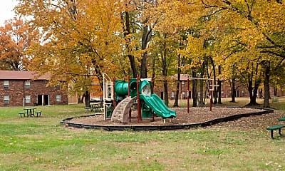 Playground, The Lux Townhomes, 2
