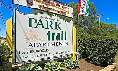 Community Signage, Park Trails Apartments, 2