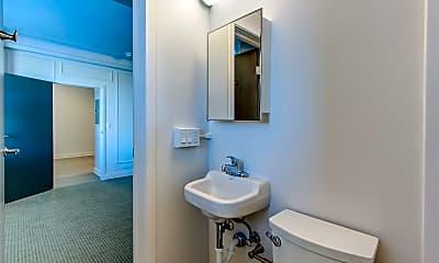 Bathroom, Fenway Manor, 2