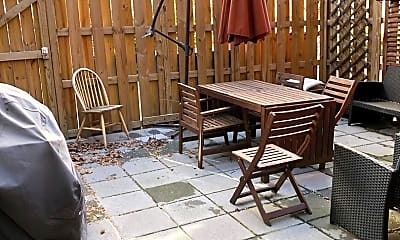 Patio / Deck, 1711 T St NW, 2