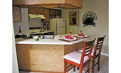 Kitchen, Autumn Run, 2