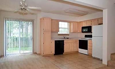 Kitchen, South Garden Townhomes, 1