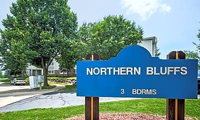 Community Signage, Northern Bluffs, 1