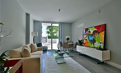 Living Room, 2000 Salzedo St 1005, 2