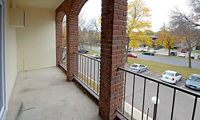 Patio / Deck, Westview Park Apartment Community, 2