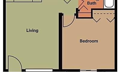 Bedroom, 110 Waterbury Ct, 2