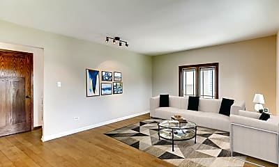 Living Room, 5819 Holmes Ave, 1