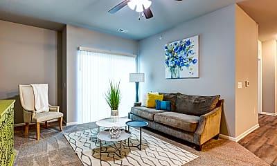 Living Room, Alice Patricia Apartments, 0