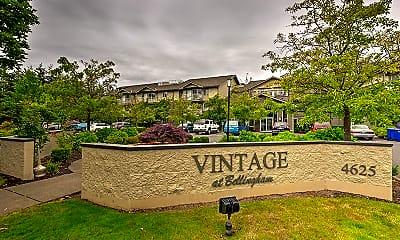 Community Signage, Vintage at Bellingham, 0