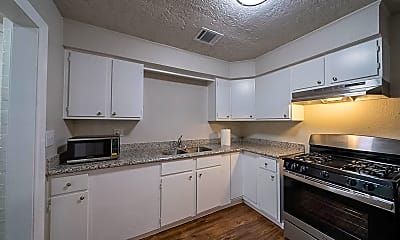 Kitchen, Room for Rent -  A 4-min walk to Parker Rd @ McGal, 1