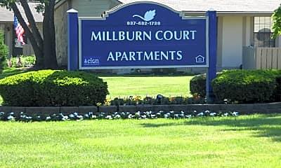 Community Signage, Millburn Court, 0