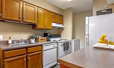 Kitchen, High River Apartment Homes, 0