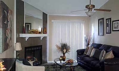 Living Room, Windsor Place Townhomes, 1